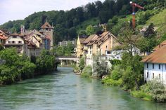 The Old Bridge over the Aare  Brugg, Switzerland
