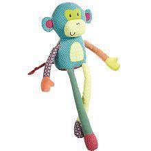 """Mamas & Papas Jamboree Toy Monkey - Mamas and Papas - Toys """"R"""" Us"""
