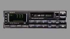 XR-777 Car audio  1980s