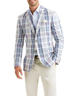 Yarmouth Plaid Blazer