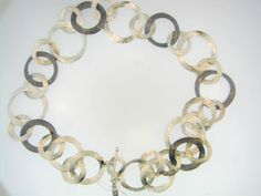 Sterling Silver Textured Strand