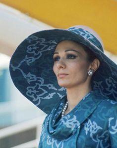 Farah Diba ex Empress of Iran.