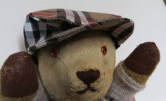 HARRY Antique Vintage Original 1950's Mohair Bear Collectible by BlinkleyWoodBears on Etsy