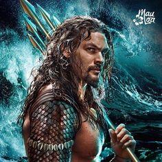 Aquaman star Jason Momoa has said he's been reading DC's New 52 comic series whilst preparing for the movie Jason Momoa Aquaman, Aquaman Actor, Khal Drogo, New 52, Movies And Series, Comic Kunst, Batman Vs Superman, Marvel Dc Comics, Comic Character