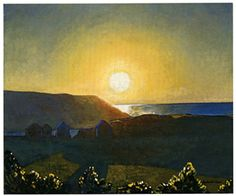 Rockwell Kent | Rockwell Kent | Redtree Times. M - Sunset, you know the one.