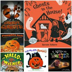 20 Halloween Picture Books