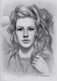 Ellie Goulding drawing
