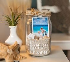 10 DIY Foto-Ideen: SO könnt ihr eure Bilder kreativ in Szene setzen! I need to do this with ouyr fishing pic. DIY Foto-Ideen: SO setzt ihr eure Bilder kreativ in Szene Seashell Crafts, Beach Crafts, Diy And Crafts, Diy Crafts For Bedroom, Crafts Cheap, Summer Crafts, Creative Crafts, Yarn Crafts, Decor Crafts