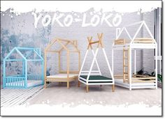 House Beds For Kids, Kid Beds, House Plants Decor, Baby Room Design, Baby Furniture, Play Houses, Girls Bedroom, Kids Room, Interior