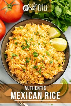 Side dish recipes 329536897737407698 - This Authentic Mexican Rice is super easy to make and goes perfectly with any Mexican meal! Get the easy recipe here! Source by stayathomechef Mexican Rice Recipes, Rice Recipes For Dinner, Easy Rice Recipes, Mexican Cooking, Mexican Dishes, Side Dish Recipes, Mexican Desserts, Rice Dishes, Food Dishes
