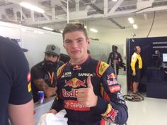 """Toro Rosso on Twitter: """"We have a very happy @Max33Verstappen after that #FP1! #ThumbsUp #ArribaArriba #MexicoGP https://t.co/dRqHtmvlhm"""""""