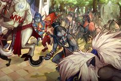 """(C) NEOPLES/ DUNGEON FIGHTER ONLINE/ Flash by: TooneGeminiElf ~ The only event that was set as a """"weekly re-occuring"""" Event that I actually looked forward to, and insisted on all guildmates to log-..."""