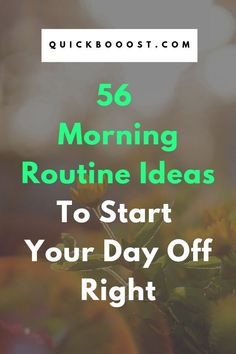 56 Morning Routine Ideas To Start Your Day Off Right Use these morning routine ideas to start your day off on the right foot. Utilize them to be more productive, enhance your time management, and achieve your goals! Time Management Activities, Time Management Printable, Time Management Quotes, Management Books, Time Management Skills, High School Activities, Activities For Adults, Productive Things To Do, Productive Day