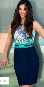cannella abbigliamento primavera estate 2013 abito blu