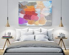 Abstract Paintings Art, Wall Decor, Extra Large Abstract Colorful Contemporary Canvas Art Print up to by Irena Orlov Canvas Art Prints, Painting Prints, Abstract Wall Art, Abstract Paintings, Decoration, Home Art, Wall Art Decor, Original Art, Contemporary