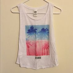 PINK VS Muscle Tank Never worn! Perfect for the summer  PINK Victoria's Secret Tops Muscle Tees
