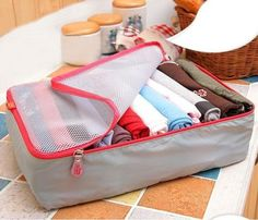 2015-3pcs-Set-Grey-Travel-Luggage-Storage-Bag-Cube-Organizer-Bag-For-Packing