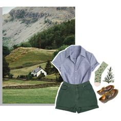 long walk home by constellvtion on Polyvore featuring Bonne Maison and Dr. Martens