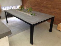 Concrete Dining Tables - Snap Concrete