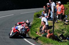 Isle of Man TT 2013  Award for biggest balls goes to these racers. Giving you something to stare at everyday www.ystare.com