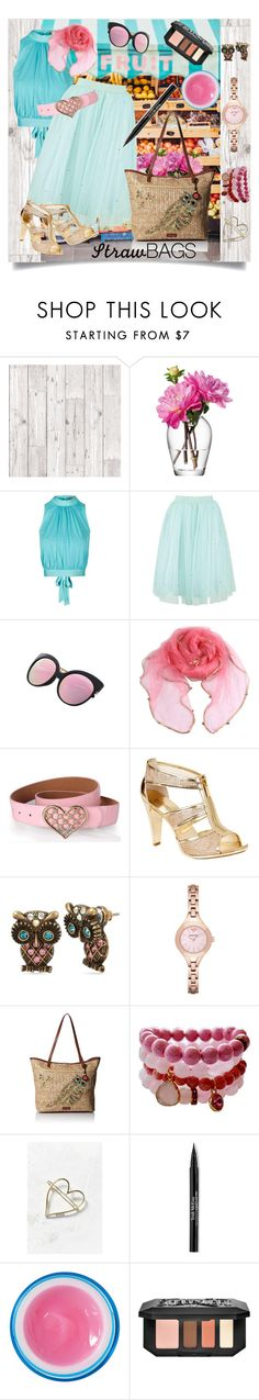"""On the Market"" by sjboster on Polyvore featuring LSA International, Topshop, MICHAEL Michael Kors, Betsey Johnson, Emporio Armani, Sakroots, Urban Outfitters, Trish McEvoy, Givenchy and Kat Von D"