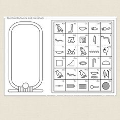 hieroglyphics for kids crafts art projects ~ hieroglyphics projects for kids . hieroglyphics for kids crafts art projects Ancient Egypt Activities, Ancient Egypt Crafts, Ancient Egypt For Kids, Egyptian Crafts, Egyptian Party, Egyptian Jewelry, Ancient Aliens, Ancient Greece, 6th Grade Social Studies