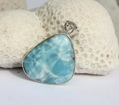 Larimar Turquoise Aqua Blue Marbled Rustic by MyBeachStore on Etsy