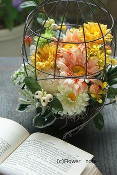 『エールを送るお花達』 http://ameblo.jp/flower-note/entry-10909052957.html