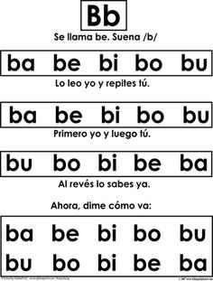 "Spanish Alpha-Posters-  Chant on the back of each poster                                                                                                                                 Large 22.5""x 28.5""  Ideal for whole group instruction. The Spanish Alpha-Poster set includes a total of 31 different posters!   http://www.bilingualplanet.com/large-spanish-alpha-poster.html"