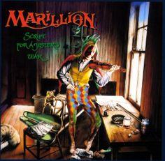 "Marillion's 1983 release ""Script For A Jester's Tear"""