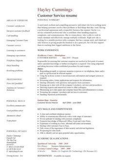 Resume Template Customer Service   Skill Based Resume Examples Functional Skill Based Resume