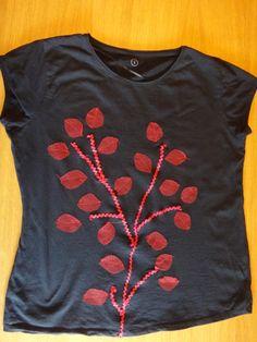 Camiseta arbre amb tul