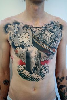 Tattoo done byChriss Dettmer.