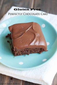 Gluten Free Perfectly Chocolate Cake