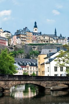 Luxembourg City - One of the most beautiful cities I've visited.  We use to take trips here when we lived in Germany.