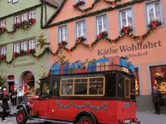 BEEN:  Kathe Wohlfahrt, World Famous Christmas shop in Germany, about 15 minutes from my house.