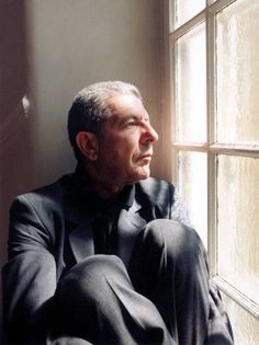 Retrato de Leonard Cohen en 2011.