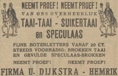 Advertentie 1924