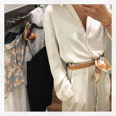 The right clothing will improve the energy flow. Let your silk robe become a…