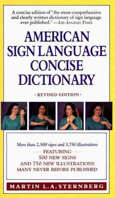 Introducing the first revised edition to the original and most extensive pocket-size American Sign Language dictionary ever published. Included are more than 2,500 of the most widely used words, phras More