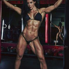 From kickboxing to competitive bodybuilding, Ana Cozar has become a fitness icon and online sensation. See her full bio, training, and diet here. Fitness Models, Fitness Icon, Chico Fitness, Muscle Fitness, Fitness Women, Female Fitness, Fit Women, Sexy Women, Strong Women