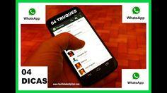4 DICAS E CURIOSIDADES QUE VOCÊ NÃO SABIA PARA O SEU WhatsApp - Facilida...