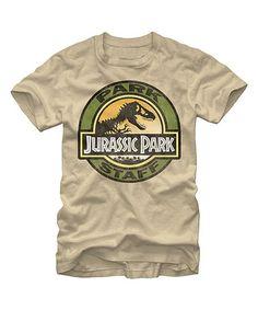 Loving this Jurassic Park 'Park Staff' Tee - Men's Regular on #zulily! #zulilyfinds