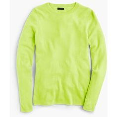J.Crew Collection Cashmere Long-Sleeve T-Shirt ($185) ❤ liked on Polyvore featuring tops, t-shirts, folding t shirts, cashmere t shirt, green tee, cashmere tee and green long sleeve t shirt