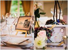 Alice in Wonderland wedding table  | Image by Christophe Mortier Photographe