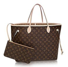 130d89ff947a LOUIS VUITTON Louis Vuitton Neverfull Monogram