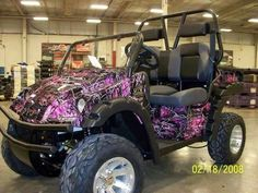 Pink Camo CanAm