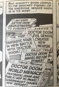 Doctor Doom making headlines