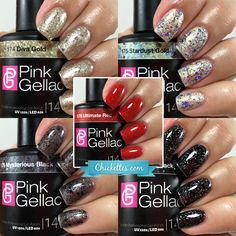 New! Glamourize – The Pink Gellac Party Collection