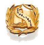 Collegiate Panhellenic Badge.